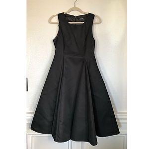 LuLu's formal a-line black dress size medium